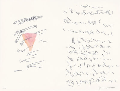 Julie Mehretu, 'Sapphic Strophes - a suite of four hand-colored relief prints to accompany The Poetry of Sappho', 2011