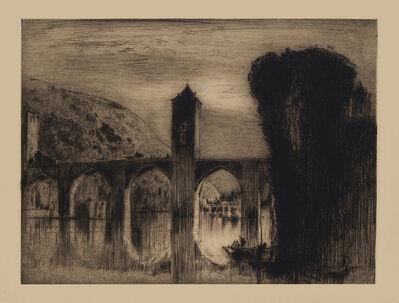 Sir Frank Brangwyn, 'Bridge',  XX century
