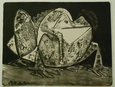 Pablo Picasso, 'Le Crapaud (The Toad)', 1949