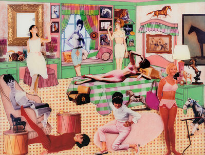 Laurie Simmons, 'The Instant Decorator: Pink and Green Bedroom (Slumber Party)', 2003