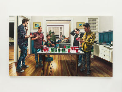 Joey Wolf, 'Saturday With The Boys', 2018