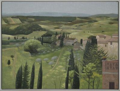 Tom Mabon, 'Landscape in Spring. San Gimignano', 2020