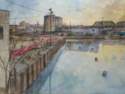 Derek Buckner, 'Gowanus Canal at Dusk'