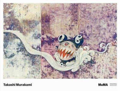 Takashi Murakami, '727 Poster (Framed)', 2020