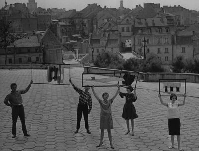 """Tadeusz Rolke, 'Lublin, 1962, """"Zamek"""" artists group', 1962"""