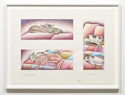Judy Chicago, '4PM - Afternoon Siesta', 2001