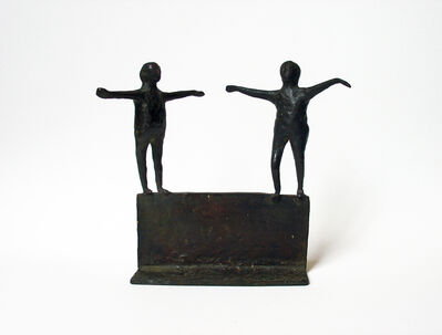 Louise Kruger, 'Untitled (Two Figures)', ca. 1958