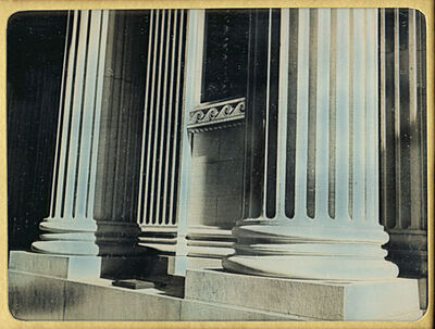 Jerry Spagnoli, 'Limestone Facade (Columns), NYC', 1994/1994