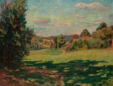 Jean Baptiste Armand Guillaumin, 'Village sur le coteau Vallée de Chevreuse', 1885
