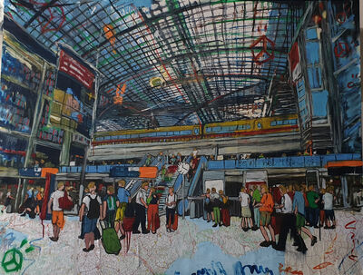 Andrea Sbra Perego, 'Berlin, Hauptbahnhof', 2019
