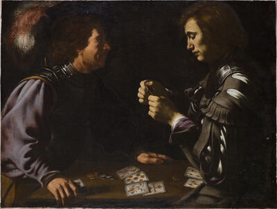 Antiveduto Gramatica, 'Card Players', ca. 1615