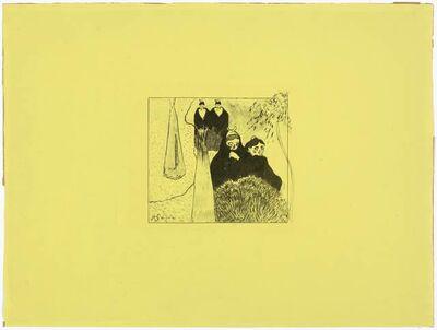 Paul Gauguin, 'Les vieilles Filles à Arles', 1889