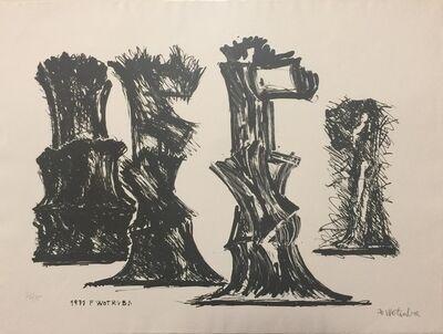 Fritz Wotruba, 'Abstract', 1971
