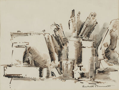 Herbert Barnett, 'Art Materials', 1967