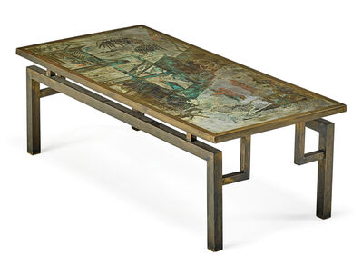 Philip Laverne, 'Chan coffee table, New York', 1960s