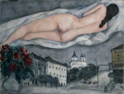 Marc Chagall, 'The Nude Above Vitebsk (Le nu au-dessus de Vitebsk)', 1933