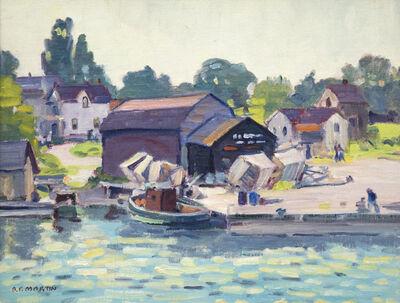 Bernice Fenwick Martin, 'Tobermory Fishing Village'