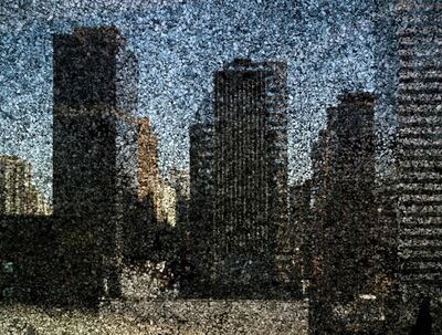 Abelardo Morell, 'Rooftop View of Midtown Manhattan Looking East', 2010