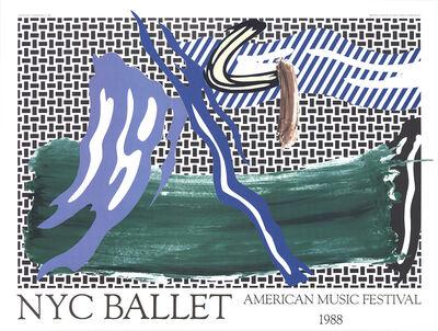 Roy Lichtenstein, 'NYC Ballet American Music Festival', 1988