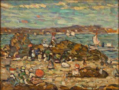 Maurice Brazil Prendergast, 'Studies St. Malo, No. 27', 1907