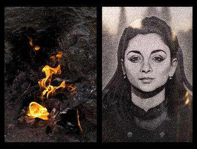 Lisa Ross, 'Tartar Eyes/ Eternal Flame', 2014