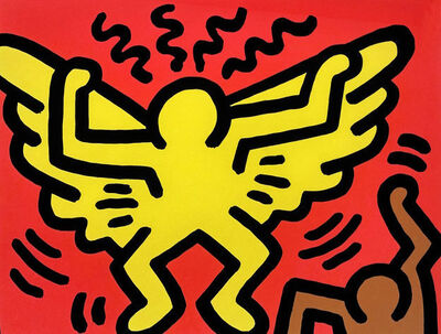Keith Haring, 'Pop Shop IV (A)', 1989