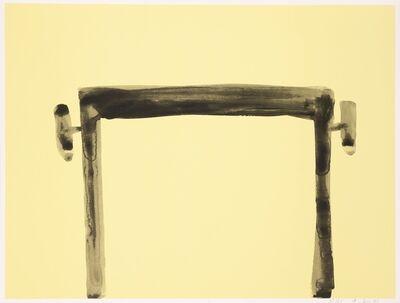 Andrea Büttner, 'Piano Stool (for Parkett 97)', 2015