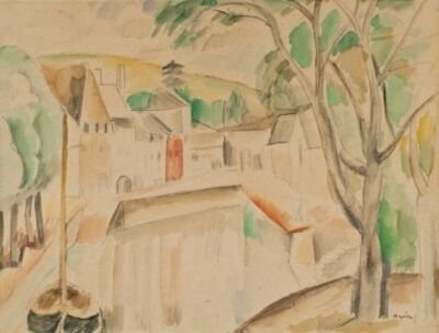 Henri Hayden, 'Vue sur le canal', ca. 1913