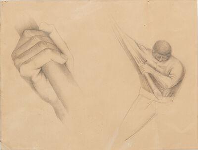 Rufino Tamayo, 'Hombre y mano', ca. 1930