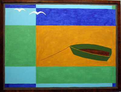 George Vranesh, 'Green Boat', 1980-1985