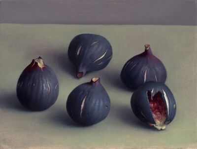 Amy Weiskopf, 'Five Dark Figs', 2015