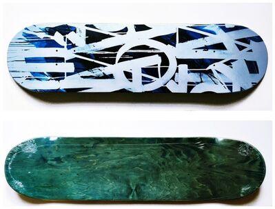 RETNA, 'Original Limited Edition Skateboard Skate deck with COA signed by RETNA ', 2018