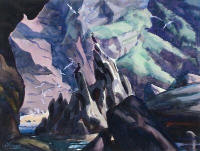Frank Wilcox, 'Bird Sanctuary, Bonaventure Island, Canada', ca. 1929