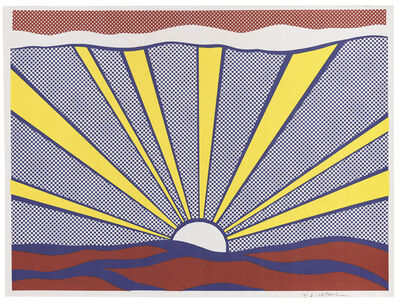 Roy Lichtenstein, 'Sunrise Corlett II.7', 1965