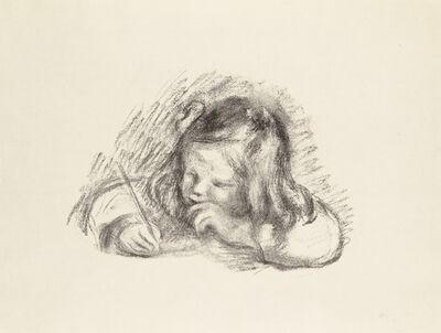 Pierre-Auguste Renoir, 'LE PETIT GARÇON AU PORTE-PLUME - PORTRAIT DE CLAUDE RENOIR ÉCRIVANT (Little Boy with a Pen - Portrait of Claude Renoir Writing)', 1902-1903