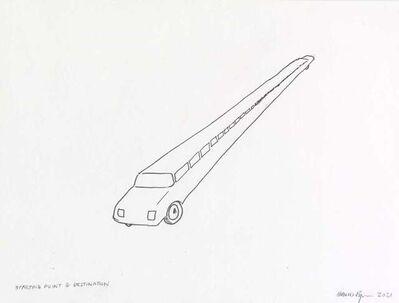 David Byrne, 'Starting Point & Destination', 2021