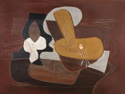 Pablo Picasso, 'Mandoline et portée de musique', 1923