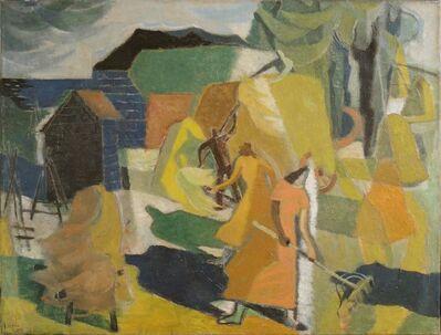 Willem (Wim) Bosma, 'Haymaking', 1950