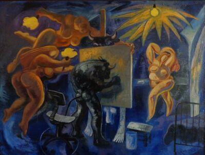 Benjamín Lafuente, 'Taurus's Studio II', 2012