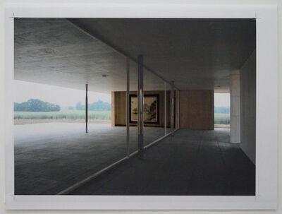 Peter Welz, 'study [mies van der rohe | casa malaparte] I', 2011