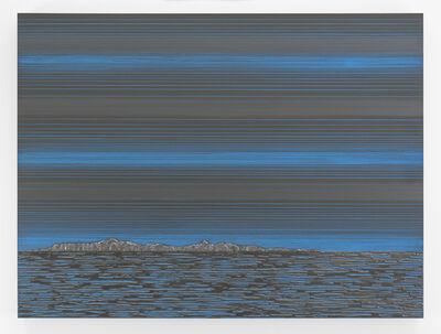 Teresita Fernández, 'Nocturnal (Blue Horizon)', 2017