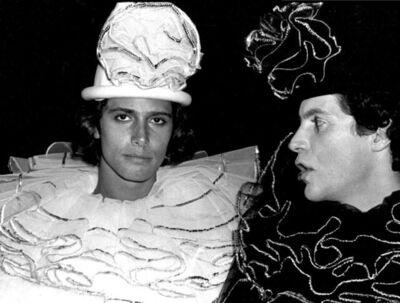 Rose Hartman, 'Carlos Souza and Luciano Villarini, Valentino's' Circus-Themed Birthday, Studio 54, 1978', 2021