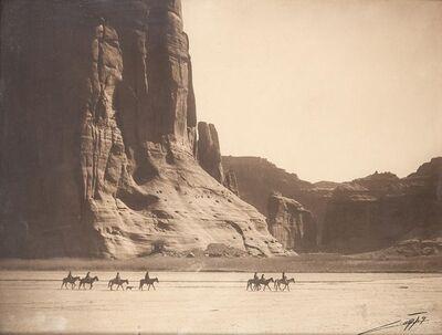 Edward Sheriff Curtis, '[Cañón de Chelly', 1904