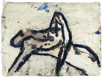James Coignard, 'Repos et bleu', 2000
