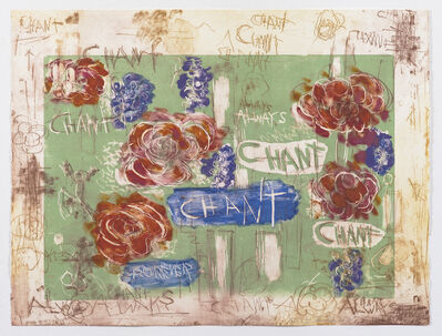 Joan Snyder, 'Chant/Forever A.P. I/II', 2018