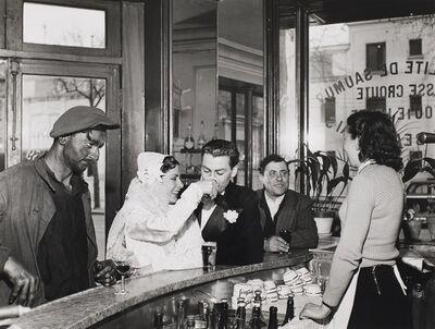 Robert Doisneau, 'Cafe Noir et Blanc', 1948-printed later