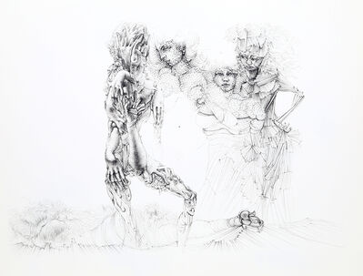 Hans Bellmer, 'Untitled - Four Women', ca. 1965