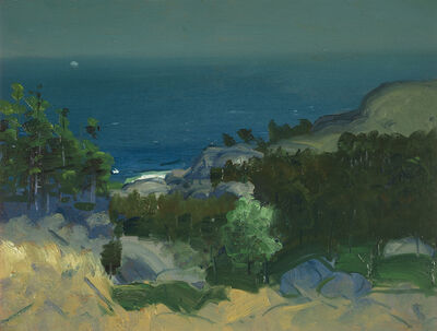 George Bellows, 'Between Moon and Sun', 1913