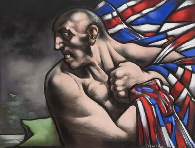 Peter Howson, 'Breost -Hord ', 2018