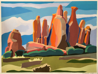 Monica Bernier, 'Arches Rocks II', 2019